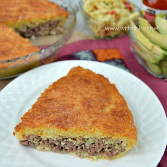 Impossibly Easy Cheeseburger Pie
