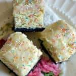 Oreo Funfetti Cake Bars