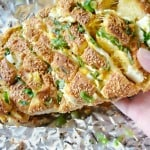 2 Cheeses Garlic and Onion Pull-Apart Bread