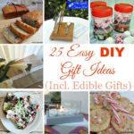 25 Easy DIY Gift Ideas