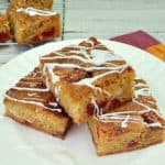 Chocolate Almond and Cherry Blondies
