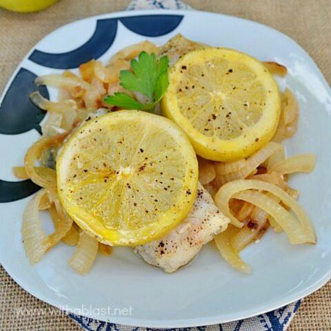 Easy Lemon and Onion Fish