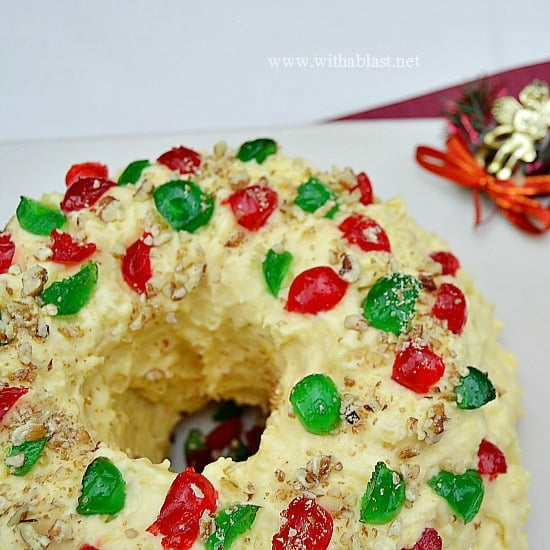 Moist Pineapple Holiday Cake