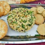 Nut and Herb Crusted Cheese Ball
