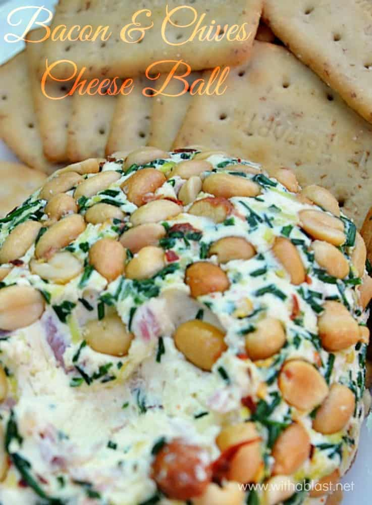 BEST appetizer or snack especially on Game Day or when having a party and this Cheese Ball will steal the show !