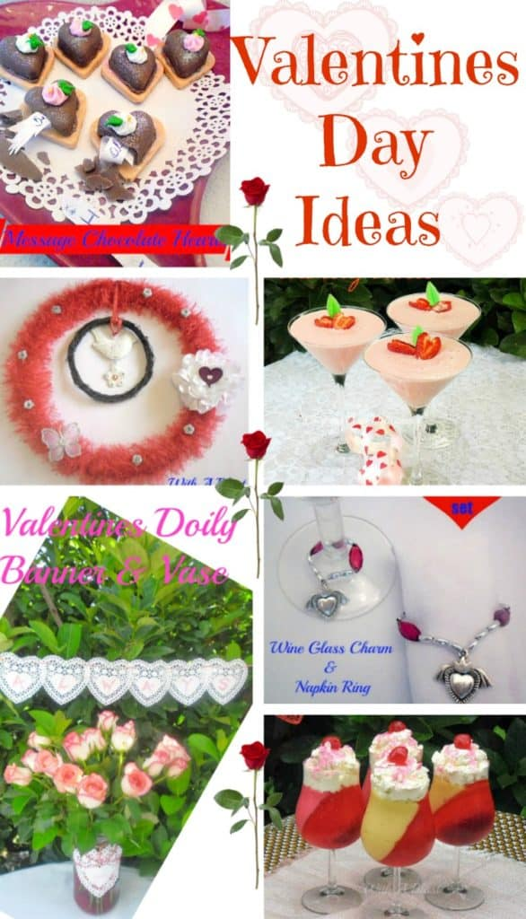 Valentines Day decor, recipes, DIY's, and special chocolate treats
