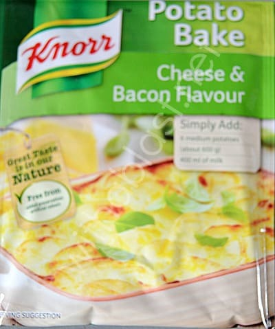 KNORR Cheese & Bacon Potato Bake www.withablast.net