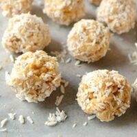 Krispie Peanut Butter Balls