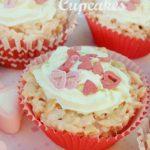 Rice Krispie Cupcakes (Valentines Day)