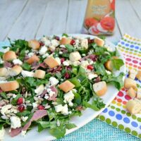 Bacon Spinach and Feta Salad