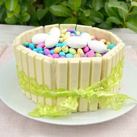 Easter KitKat Cake With A Blast