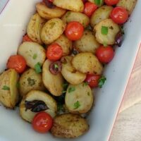 Mediterranean Baby Potatoes