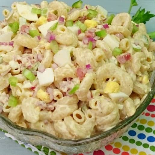 Bacon and Egg Pasta Salad