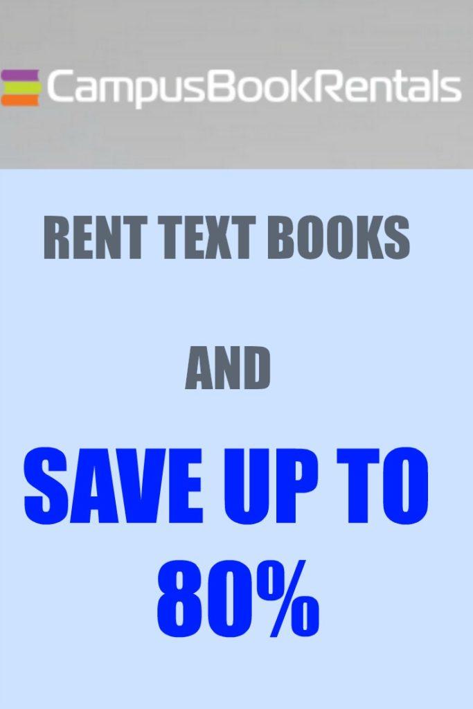 Campus Book Rentals #Sponsored