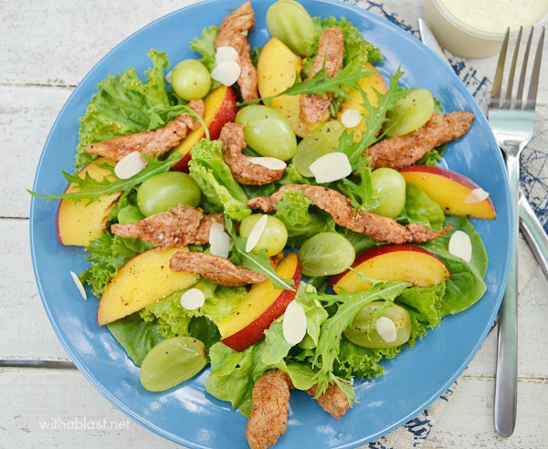 Chicken and Nectarine Salad