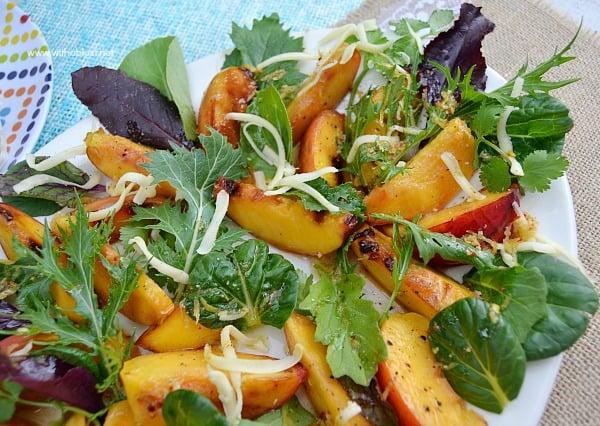Grilled Nectarine Salad