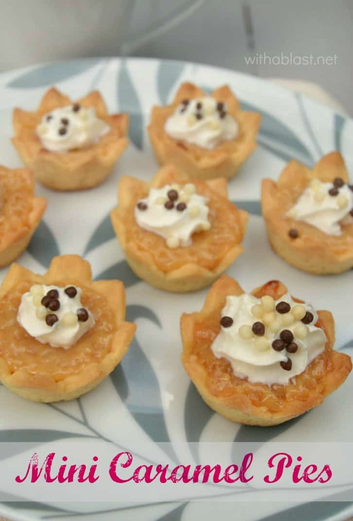 Mini Caramel Pies