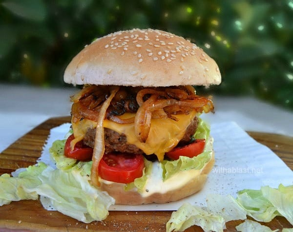 Coriander and Black Pepper Burgers