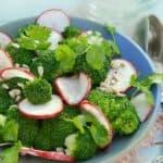 Lemony Broccoli Salad
