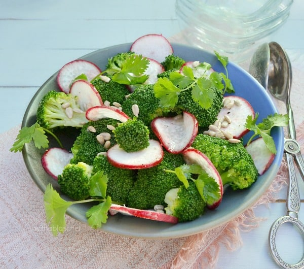 Lemony Broccoli Salad