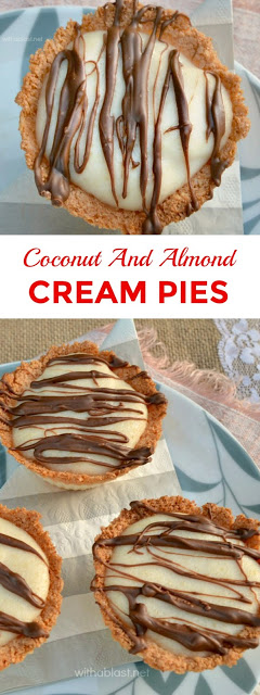 Easy, delicious dessert or sweet snack ! (Bake a couple of batches of the Coconut Cups and fill with any No-bake filling ! )