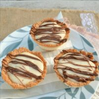 Coconut and Almond Cream Pies