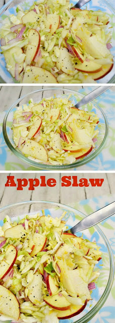 Everyone loves this crunchy salad ! No mayonnaise AND you can make the salad in advance !