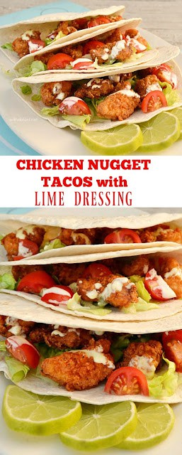 Healthier, lighter Chicken Tacos #EasyRecipe #Tacos #ChickenRecipe