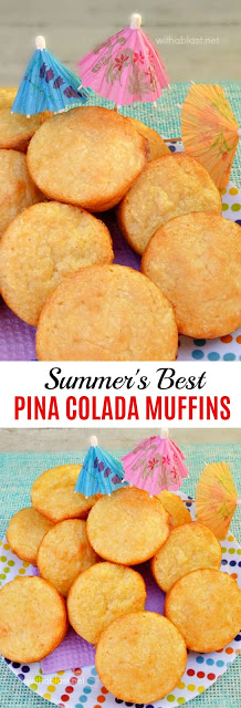 Best Summer Muffins ! Pineapple, coconut and more !
