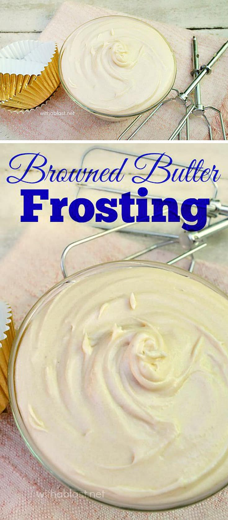 How to make the most delicious Browned Butter Frosting ! If you have never tasted (or made this) now is the time to start - a must have recipe, especially for Fall desserts #Frosting #FrostngRecipe #FallFrosting #BrownedButterFrosting #IcingRecipe #FallIcingRecipe