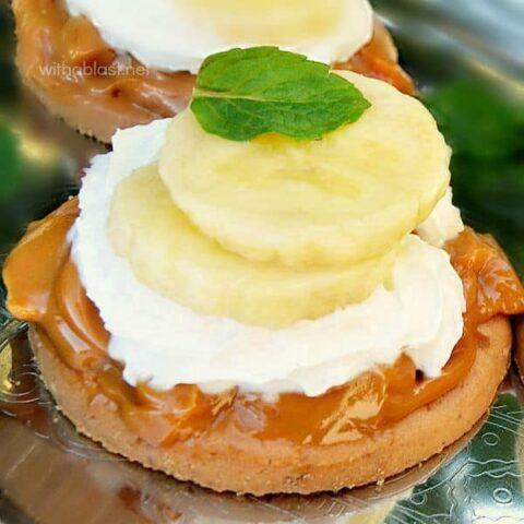 Quick Mini Banoffee Pies
