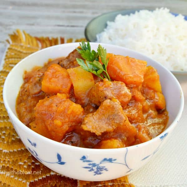 Beef and Pumpkin Stew