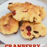 Cranberry Rock Cakes