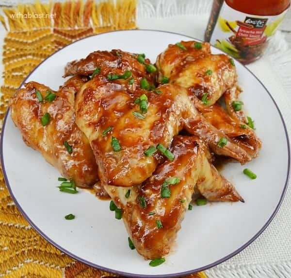Sticky Honey Chicken Wings