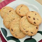Crunchy Chocolate Chip Oat Cookies