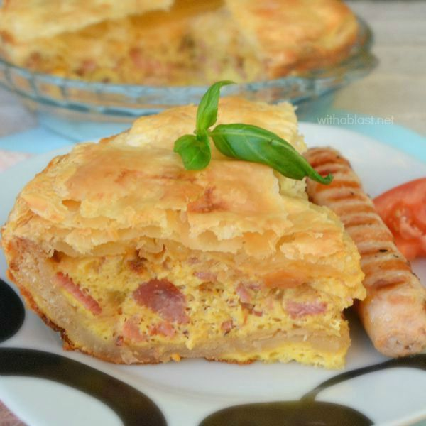 Easy Bacon and Egg Pie