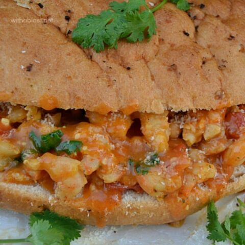 Curry Shrimp Sub