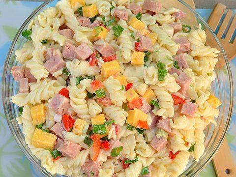 Ham Macaroni Salad Recipe Easy