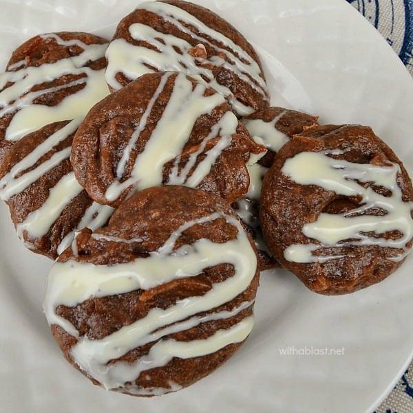 Gooey Drop Brownies