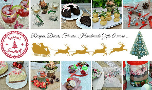 Christmas Sweet Treats, Gift Ideas, Decor and from With A Blast. Find recipes for Christmas breakfasts to desserts, drinks and more !