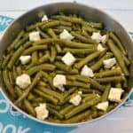 Garlicky Green Beans with Feta