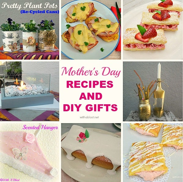 Sweet and savory recipes / Easy DIY Gift ideas