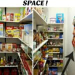 "Walk In Pantry From ""Stolen"" Space"