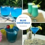 Blue Cocktails For Summer (or Whenever!)