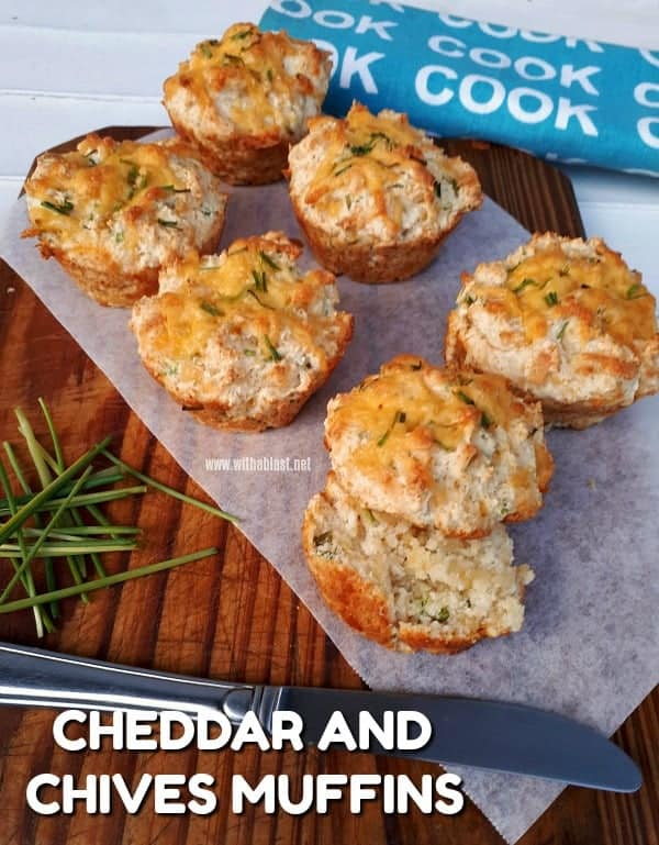 Cheddar and Chives Muffins