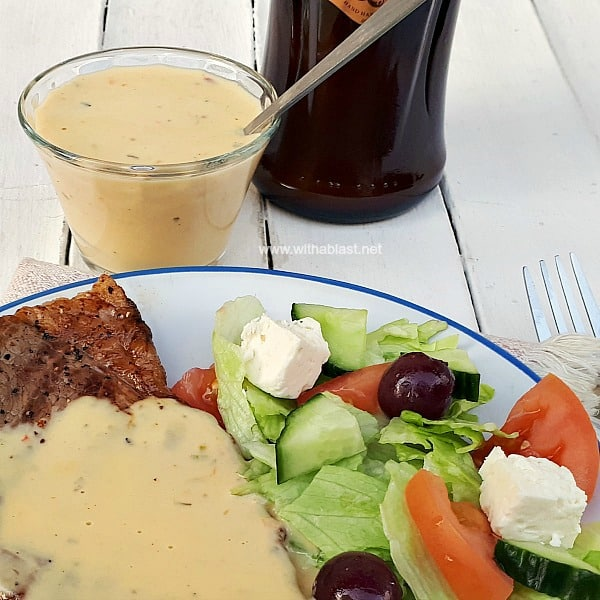 Tired of your old Steak sauces ? This Amarula Cream Sauce is perfect for Steaks !