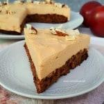 Apple Carrot Caramel Cheesecake