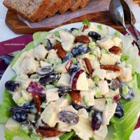 Fall Chicken And Apple Salad