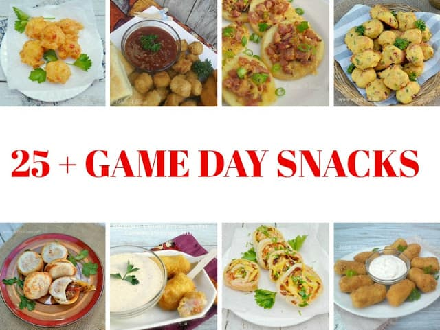 25+ Game Day Snacks