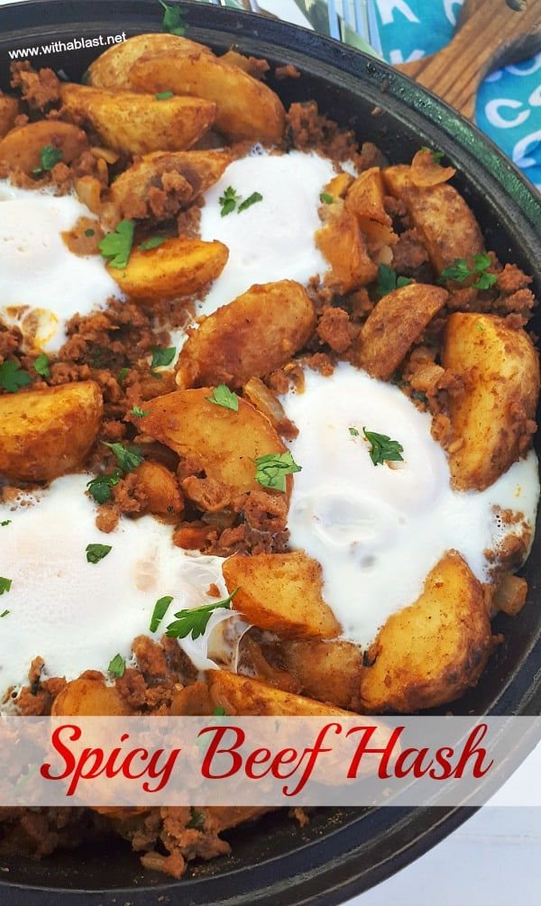 Perfect, hearty breakfast on a chilly morning and can be served for dinner as well